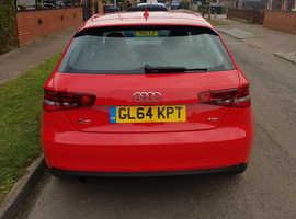 Audi A3, 2014 (64) Red Hatchback, Manual Diesel, 79,058 miles