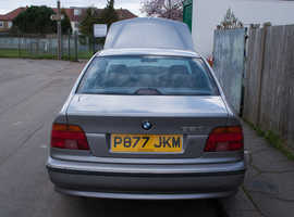 BMW 5 Series, 1996 (P) Silver Saloon, Manual Petrol, 133,370 miles