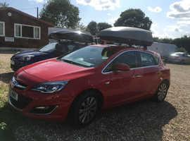 Vauxhall Astra, 2013 (13) Red Hatchback, Manual Diesel, 73,150 miles