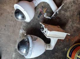 2 x CCTV PTZ cameras Free