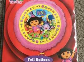 Happy Birthday Dora the Explorer childrens boys girls helium balloon foil present gift delivery
