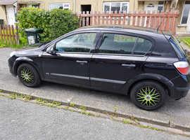 Vauxhall Astra, 2006 (55) Black Hatchback, Manual Petrol, 115,000 miles