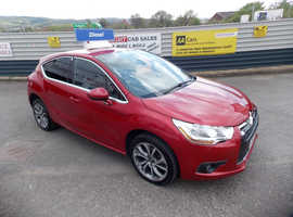Citroen DS4, 2013 (13) Red Hatchback, Manual Diesel, 73,804 miles