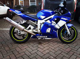Yamaha R6 low mileage