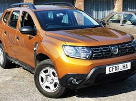 Dacia Duster, 2018 (18) Orange Hatchback, Manual Petrol, 13,000 miles