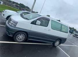 Nissan Elgrand Homy Camper Van