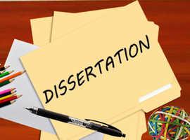 Online dissertation writing services uk