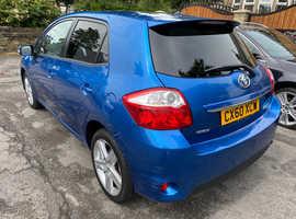 Toyota Auris, 2010 (60) Blue Hatchback, Manual Petrol, 58,000 miles