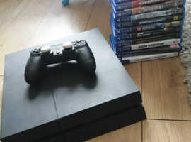 Ps4 with games 500gb