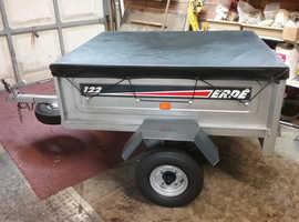 Erde 122 tipping trailer