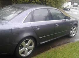 Audi A4, 2006 (06) Grey Saloon, Manual Diesel, 151,000 miles