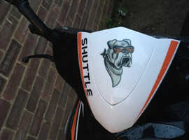 Sunnis shuttle 125cc moped