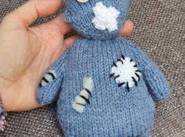 Mental health charity handmade teddy