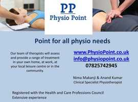 Home physiotherapy in Birmingham, Solihull, Droitwich & Leicester