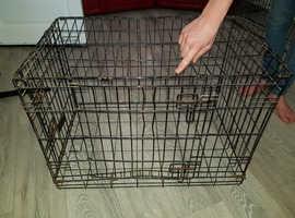 Dog cage NO TRAY