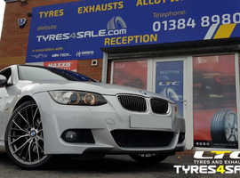 """Set of DRC DMM 19"""" Staggered Alloy Wheels for BMW 3 series"""