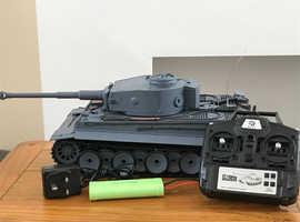 Henglong 1/16 scale German tiger 2.4GHz remote control battle tank