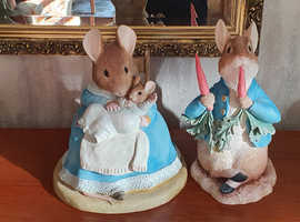 Large Beatrix Potter Figurines