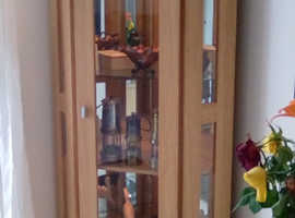 Stylish light up display cabinet for sale