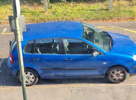 Volkswagen Polo, 2008 (Q) blue hatchback, Manual Diesel, 85,000 miles