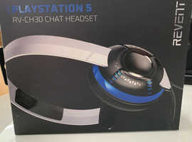 Revent PlayStation 5 Chat Headset - BRAND NEW AND SEALED