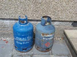 Calor gas bottles x2.