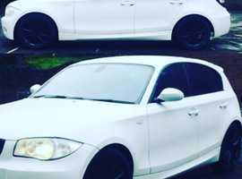 BMW 1 series, 2006 (06) White Hatchback, Manual Diesel, 152,000 miles