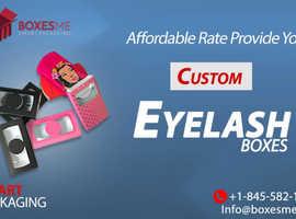 Get Trendy Wholesale Eyelash Packaging from us