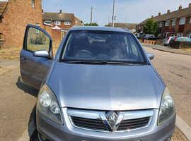 Vauxhall Zafira, 2008 (08) Silver MPV, Manual Petrol, 99,819 miles