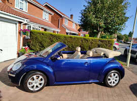 Volkswagen Beetle, 2005 (55) Blue Convertible, Manual Diesel, 68,303 miles