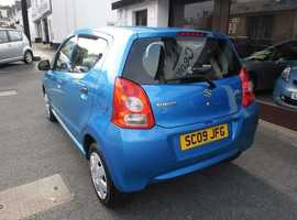Suzuki Alto, 2009 (09) Blue Hatchback, Manual Petrol, 33,000 miles