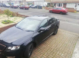 Skoda Octavia, 2014 (64) Black Hatchback, Manual Diesel, 84,000 miles