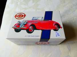 MATCHBOX 1939 RED TRIUMPH DOLOMITE; 1:43 SCALE