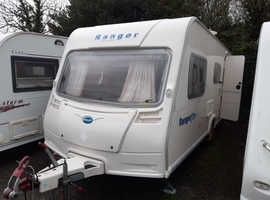 2006 Bailey Ranger 510/4, 4 berth, motor mover, awning, ready to use now
