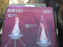 flame effect lamp fan