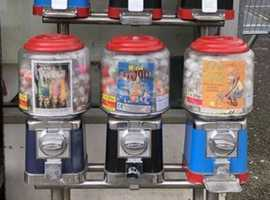 FREE 20p Vending sweet toy machine available