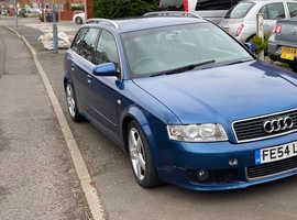 Audi A4, 2004 (54) Blue Estate, Cvt Diesel, 140,234 miles