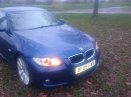 BMW E92 320D M SPORT COUPE 09 REG 6 SPEED FULL CREAM LEATHER RUNS GREAT