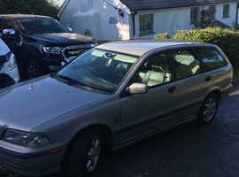 Volvo S/V40 SERIES, 1997 (P) Silver Estate, Manual Petrol, 104,000 miles