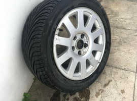 "Audi Alloy Wheel 16"" Rim with 205/55 ZR16 94W Enduro"