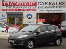 2011/11 Ford Fiesta 1.4 Zetec finished in Dove Grey Metallic.  57,245 miles