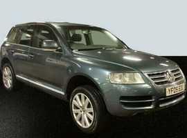 2005 VW VOLKSWAGEN TOUAREG 2.5 TDI SPORT AUTOMATIC, STATIONWAGON JEEP 4X4 4WD, NO X5 X3 TIGUAN ML Q7