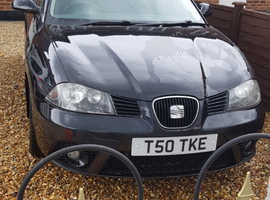 Seat Ibiza, 2007 (07) Black Hatchback, Manual Petrol, 115,000 miles