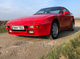 Porsche 944, 1988 (E) Red Coupe, Manual Petrol, 207,000 miles