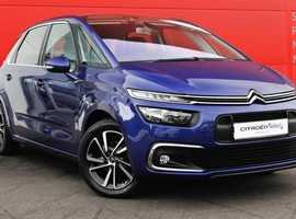 Citroen C4 Picasso, 2016 (66) Blue MPV, Manual Diesel, 16,100 miles