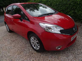 ONLY 18,000 MILES Nissan Note 1.2 Acenta  2017 (17) 5DR