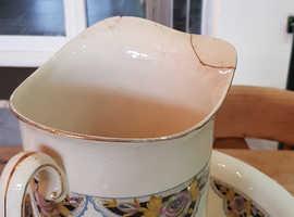 Large water jug and Bowl