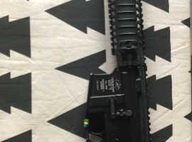 ASG LMT M4 Proline + Madbull Daniel Defense rail