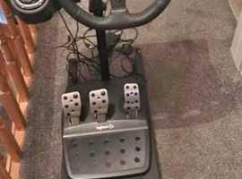 Xbox one steering wheel / gears/ peddles