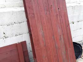 Wooden garden gates for free